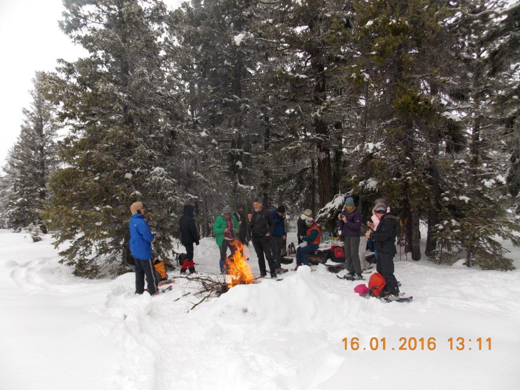 Photo: China Ridge Snowshoe