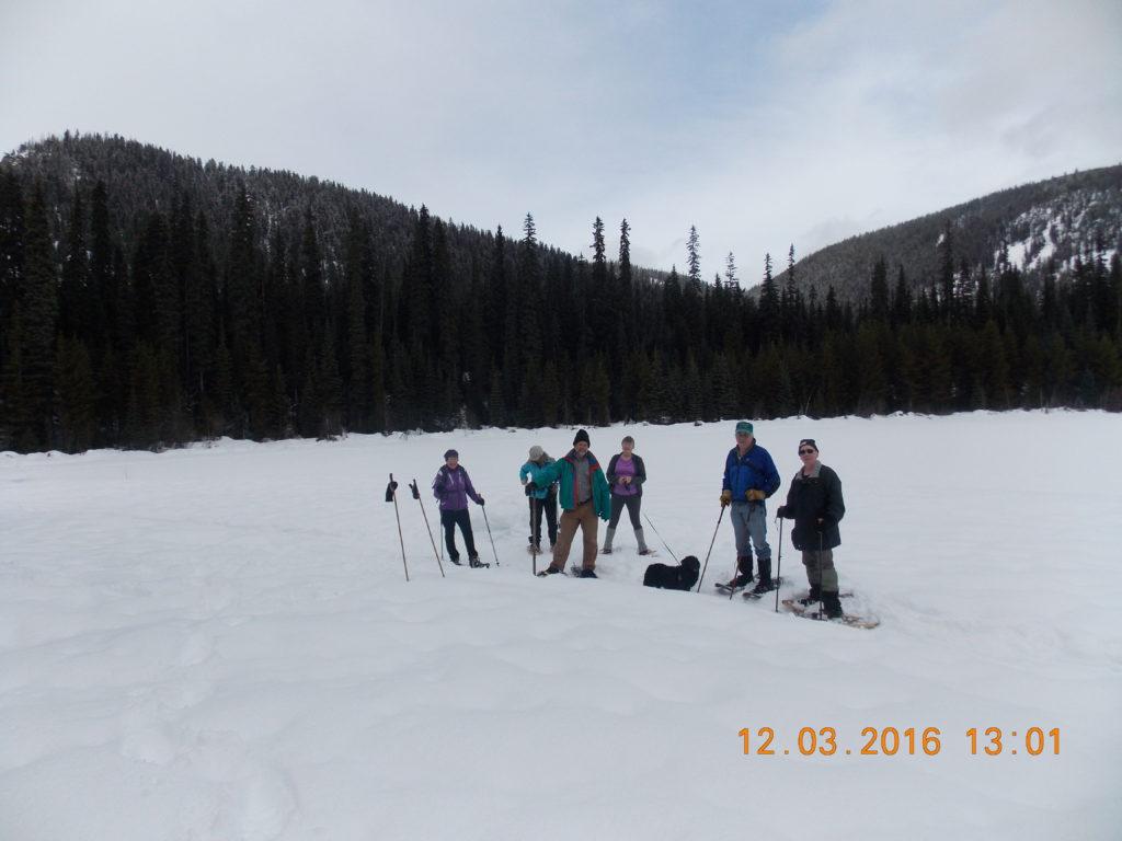 Photo: Lightning Lake Snowshoe