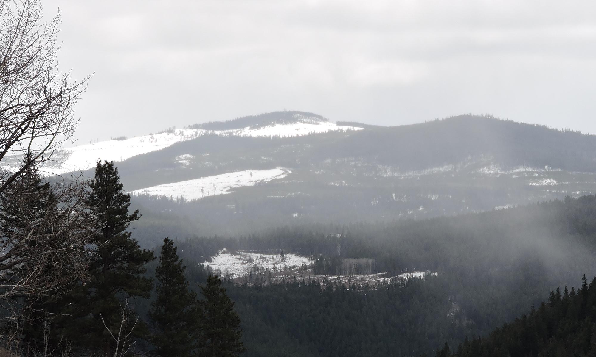 Header: Little Darcy Mountain