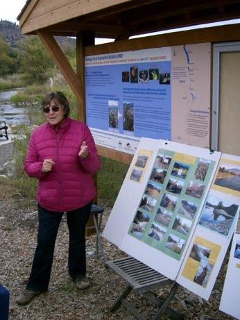 Photo: Visiting the Okanagan River at Oliver