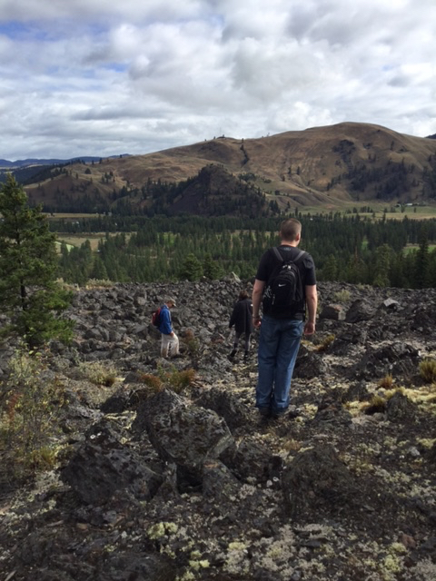 Photo: Volcanic Lava Flows